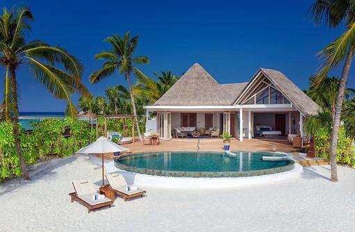 Beach Residence, Aussenansicht, Milaidhoo Island, Maledives