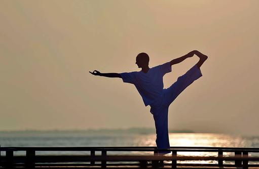 Yoga, Meditataion, Milaidhoo Island, Maledives