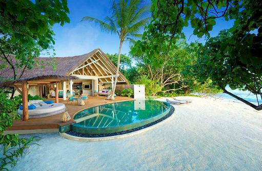 Beach Pool Villa, Aussenansicht, Milaidhoo Island, Maledives