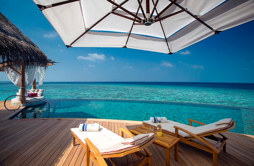 Ocean Residence, Daybed, Infinity Pool, Milaidhoo Island, Maledives