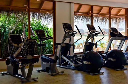 Fitnessraum, Cardiogeräte, Milaidhoo Island, Maledives