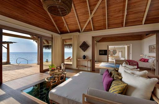 Ocean Residence, Wohnzimmer, Milaidhoo Island, Maledives