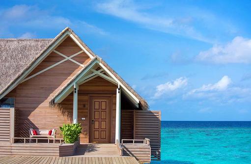 Water Pool Villa, Eingang, Milaidhoo Island, Maledives