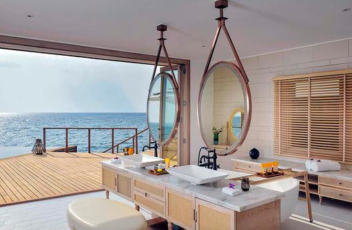 Ocean Residence, Badezimmer, Milaidhoo Island, Maledives