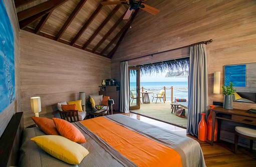 Water Villa, Schlafen, Mirihi Island Resort, Malediven