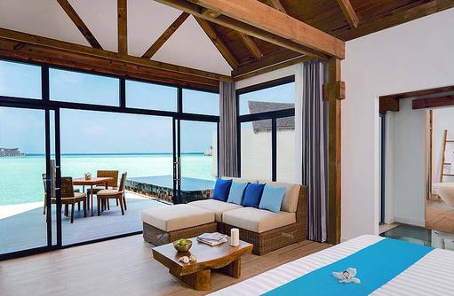 Wohnen, Over Water Suiten, Mövenpick Resort & Spa Kuredhivaru