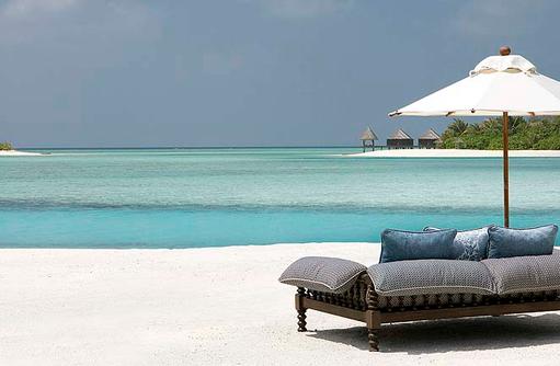 Strandblick, Naladhu Private Island Maldives