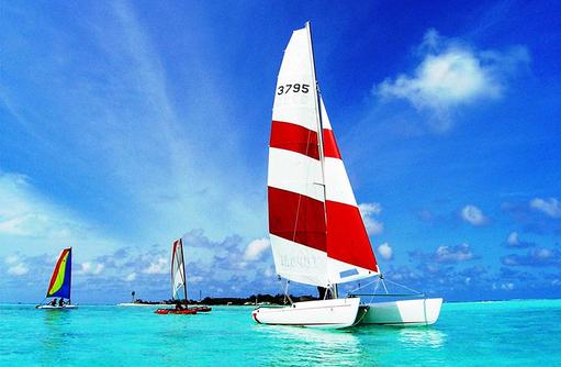 Katamaran, Naladhu Private Island Maldives