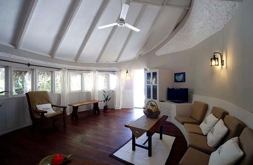 Wohnraum Beach Villa, Nika Island Resort & Spa