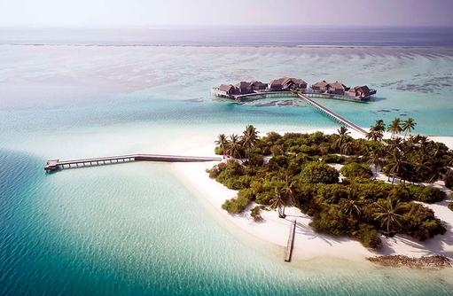 Luftansicht, The Crescent, Niyama Private Islands Maldives