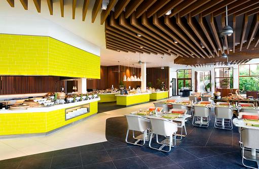 Epicure Restaurant, Essensbereich, Buffet, Niyama Private Islands Maldives
