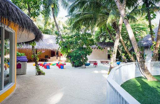 Explorers, Kinderclub, Garten, Niyama Private Islands Maldives