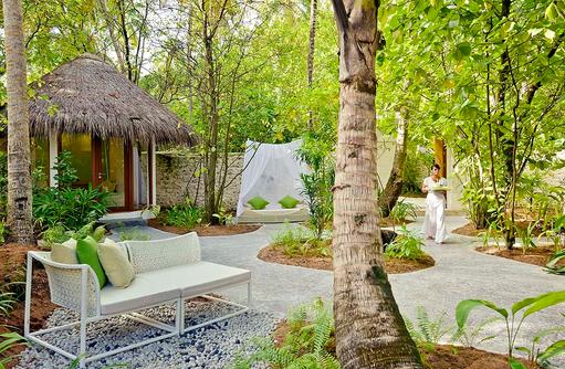 Drift Spa, Garten, Niyama Private Islands Maldives
