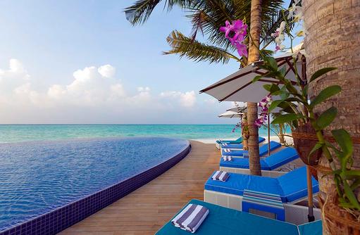 Blu Pool, Infinity Pool, Niyama Private Islands Maldives