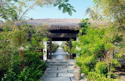 SPA Eingang, Noku Maldives