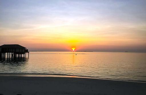 Sonnenuntergang, Noku Maldives