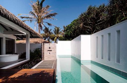 SPA Pool, Noku Maldives