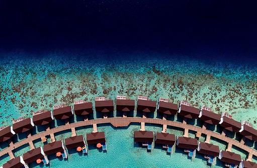 Water Villas, Drohnenbild, OBLU SELECT at Sangeli