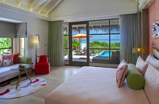 Deluxe Beach Villa, OBLU SELECT at Sangeli