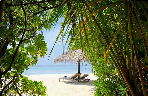 Blick auf den Strand, Olhuveli Beach & SPA Resort