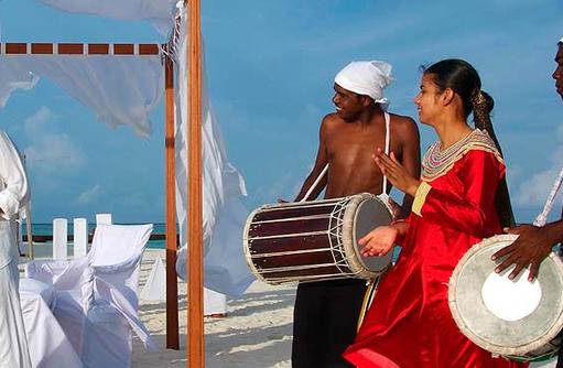 Hochzeit am Strand, Olhuveli Beach & SPA Resort