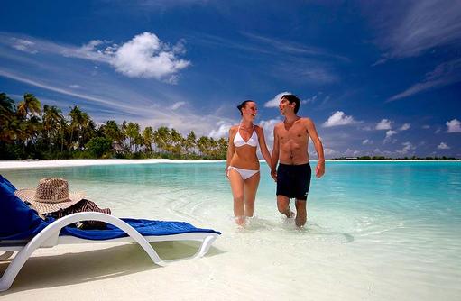 Entspannen im Wasser, Olhuveli Beach & SPA Resort