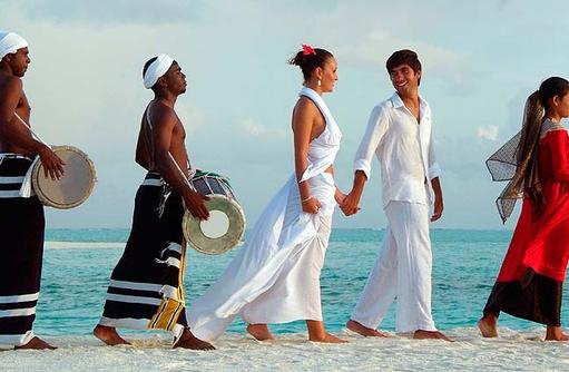 Zeremonie Hochzeitspaar, Olhuveli Beach & SPA Resort