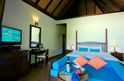 Deluxe Room, Schlafen und Wohnen, Olhuveli Beach & SPA Resort, Maldives