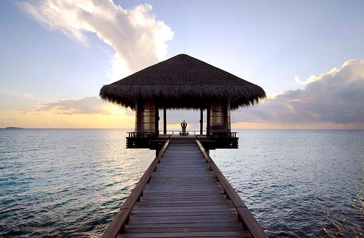 Chi Pavillon, Yogastunde, One & Only Reethi Rah, Maldives