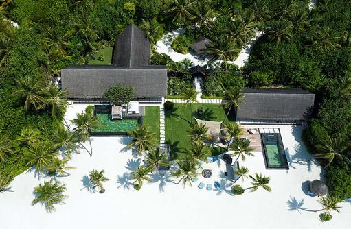 Grand Sunset Residence, Ansicht von oben, One & Only Reethi Rah, Maldives