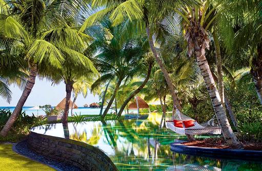 Hauptpool, One & Only Reethi Rah, Maldives