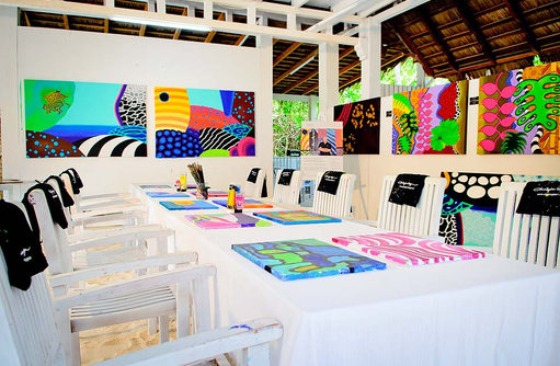 Artist Studio, Kunst, One & Only Reethi Rah, Maldives