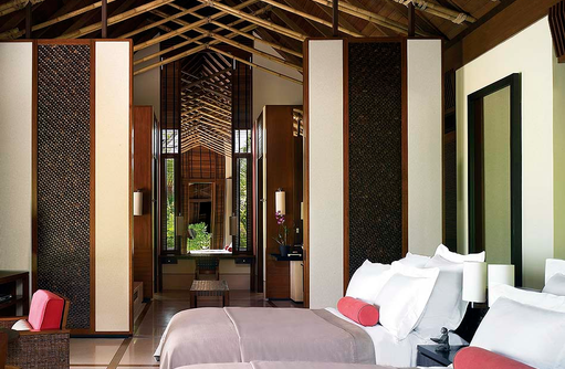 Beach Villa, Two Villa Residence with Pool, Schlafzimmer, One & Only Reethi Rah, Maldives