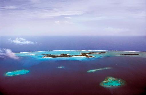 Luftaufnahme, One & Only Reethi Rah, Maldives