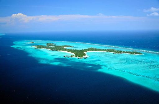 Vogelperspektive, One & Only Reethi Rah, Maldives