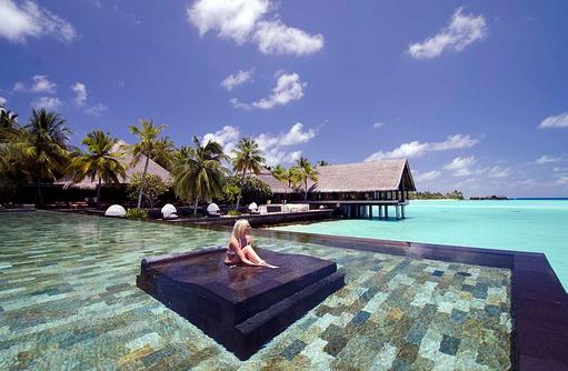 Lap Pool, One & Only Reethi Rah, Maldives