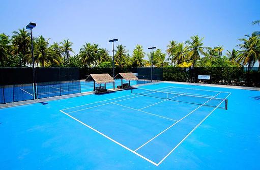 Tennisplatz, One & Only Reethi Rah, Maldives