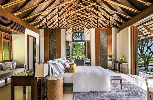 Grand Sunset Residence, Master Bedroom, One & Only Reethi Rah, Maldives
