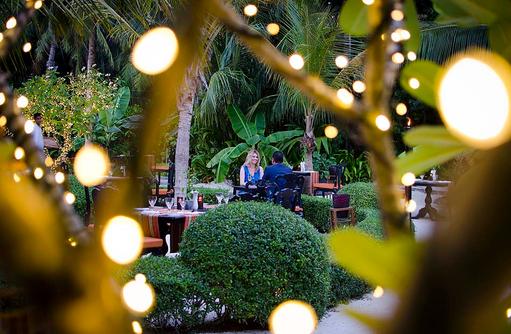 Chef's Garden, Lichterspiel, One & Only Reethi Rah, Maldives