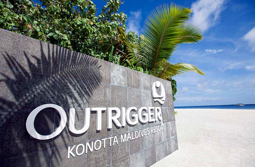 Resortlogo, Outrigger Konotta Maldives Resort