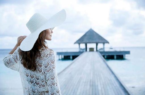 Gedanken und Blick schweifen lassen, Outrigger Konotta Maldives Resort