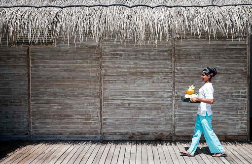 Zimmerservice, Outrigger Konotta Maldives Resort