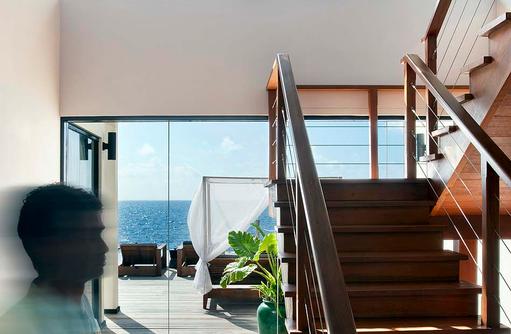 Präsidenten Villa, Outrigger Konotta Maldives Resort