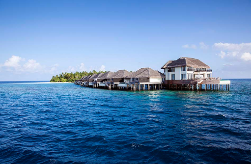 Präsidenten Villa am Steg, Outrigger Konotta Maldives Resort