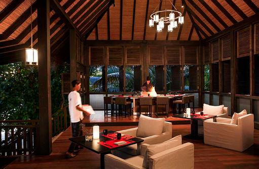 Nala Rah Restaurant, Japanisches Teppanyaki, Outrigger Konotta Maldives Resort