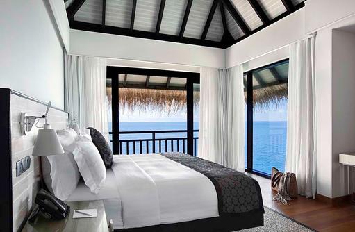 Schlafzimmer, Präsidenten Villa, Outrigger Konotta Maldives Resort