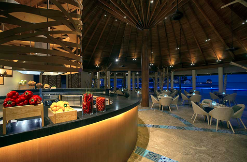 Restaurant The Palms, OZEN by Atmosphere at Maadhoo, Maldives