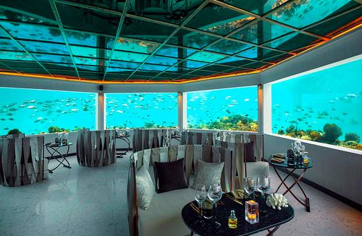 Unterwasserrestaurant, OZEN by Atmosphere at Maadhoo, Maldives