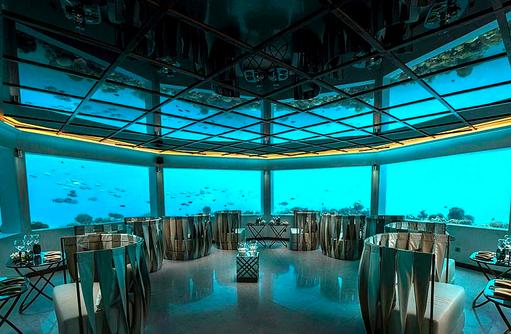 M6m by Ozen Unterwasserrestaurant, OZEN by Atmosphere at Maadhoo, Maldives