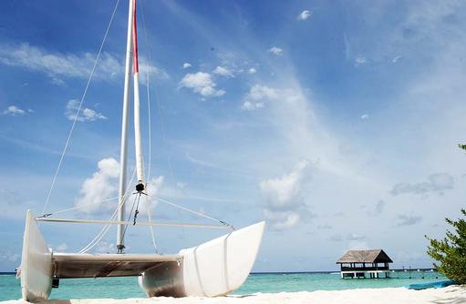 Wassersport, Katamaran I Palm Beach Island